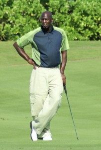 Michael Jordan on the Golf Course