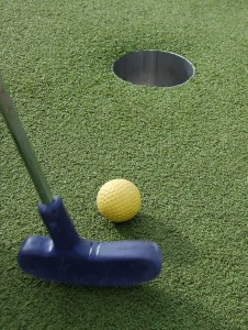 Mini Golf was perhaps the first golf variation...