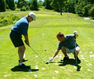 Does swing advice only work in person? (photo by Greg D'Andrea)