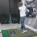 getting fitted for clubs