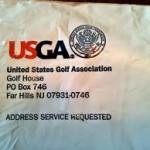 Proof I Joined the USGA (unpacking photos)!