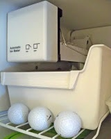 Freezing Golf Balls