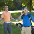 cell phone golf