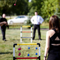 Find Ladder Golf at you summer backyard parties... (photo by Melanie Dueck / CC BY-ND 2.0)