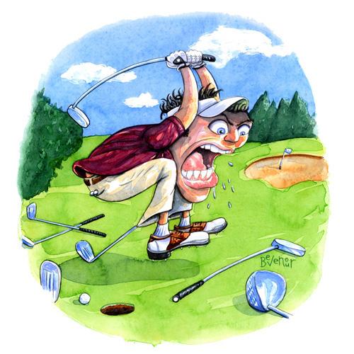 Golf & The Art Of Falling Apart. • GolfStinks