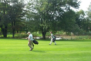 Walking the golf course offers more than just exercise