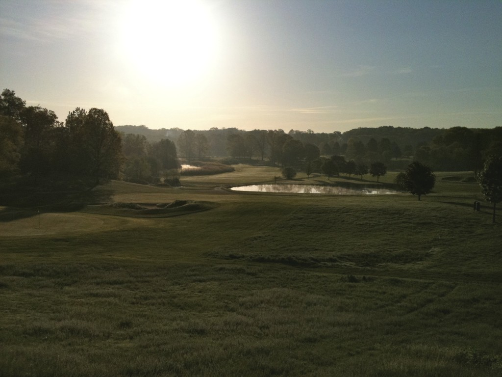 Are you up at the crack of dawn to play golf? Because that's when I snapped this photo! (photo by Greg D'Andrea)
