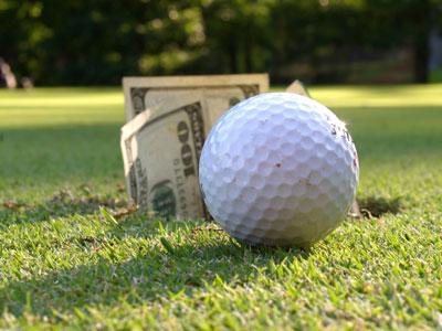 golf ball money