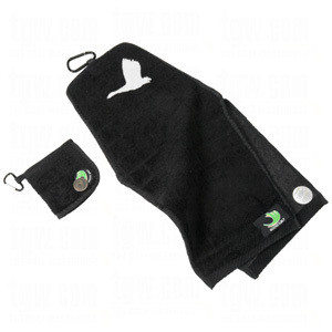 goose golf towel