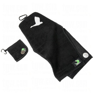 goose golf towel