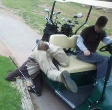 drunk golf
