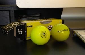 vision golf balls