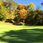 Golfing in the New England Autumn