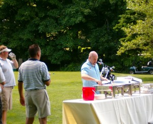 Do you expect tons of food at a golf tournament?
