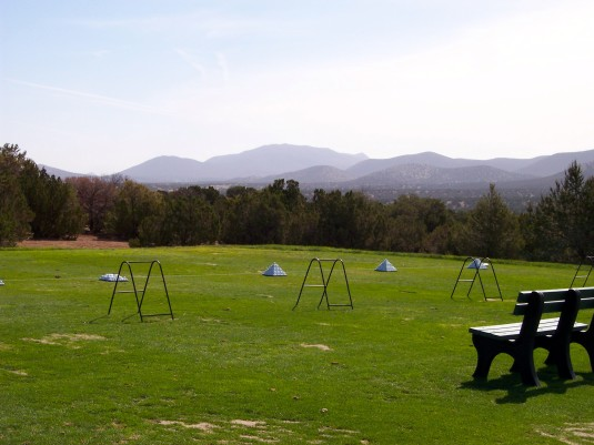 Empty Golf Range