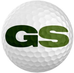 "golfstinks ""GS"" logo"