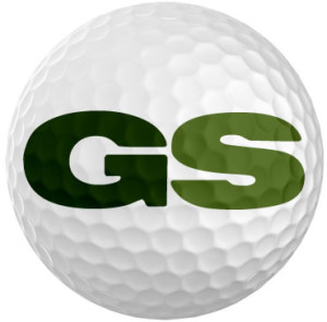 "golfstinks ""GS"" logo"