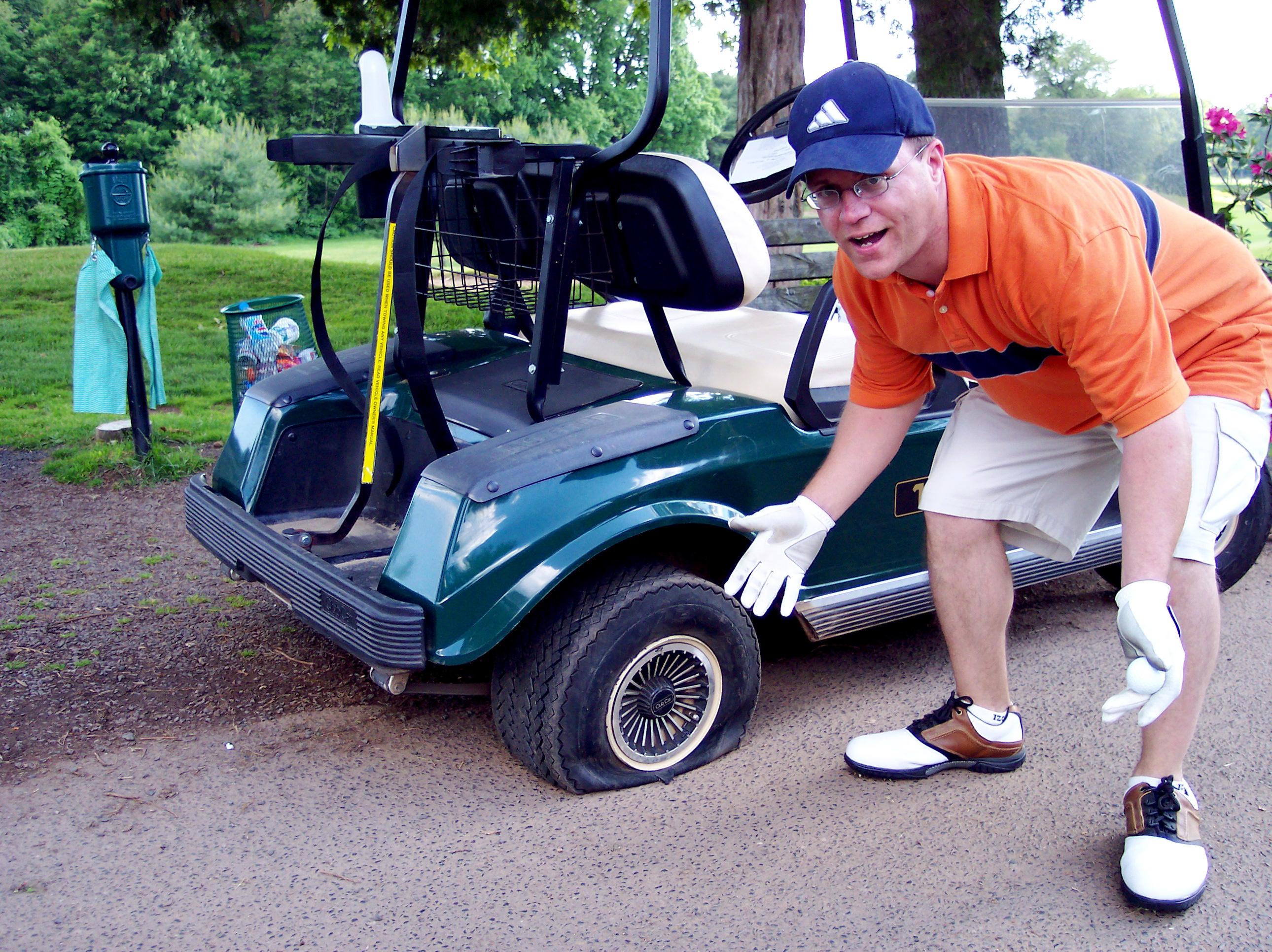 Stinky Golfer Tom