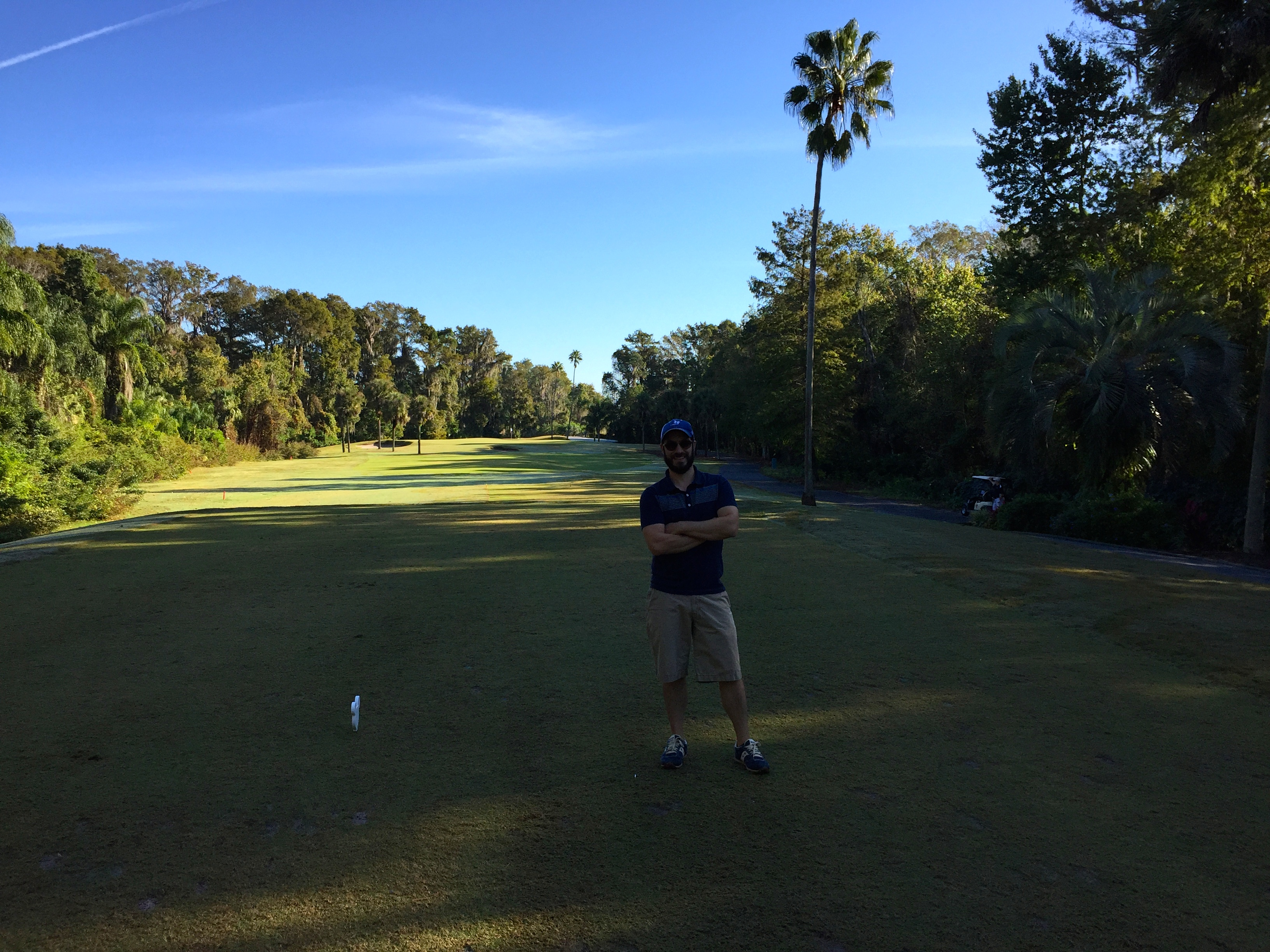 Stinky Golfer Greg at Disney's Palm Golf Course