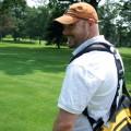 smiling golfer