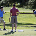 putting golfers on red course - east potomac park golf course