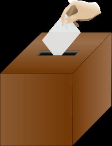 poll ballot box