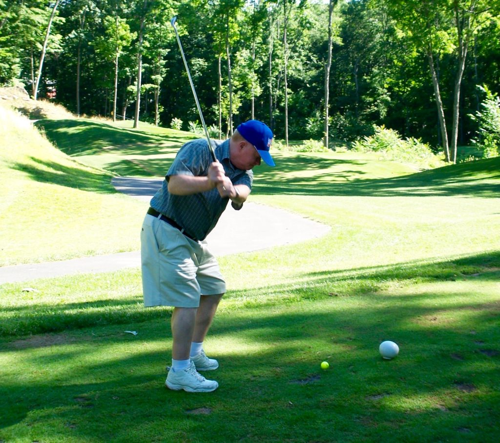Are old white guys keeping you from taking up golf? (photo by Greg D'Andrea)