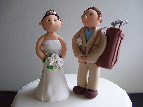 wedding cake toppers golf theme golf amp marriage golfstinks 26482