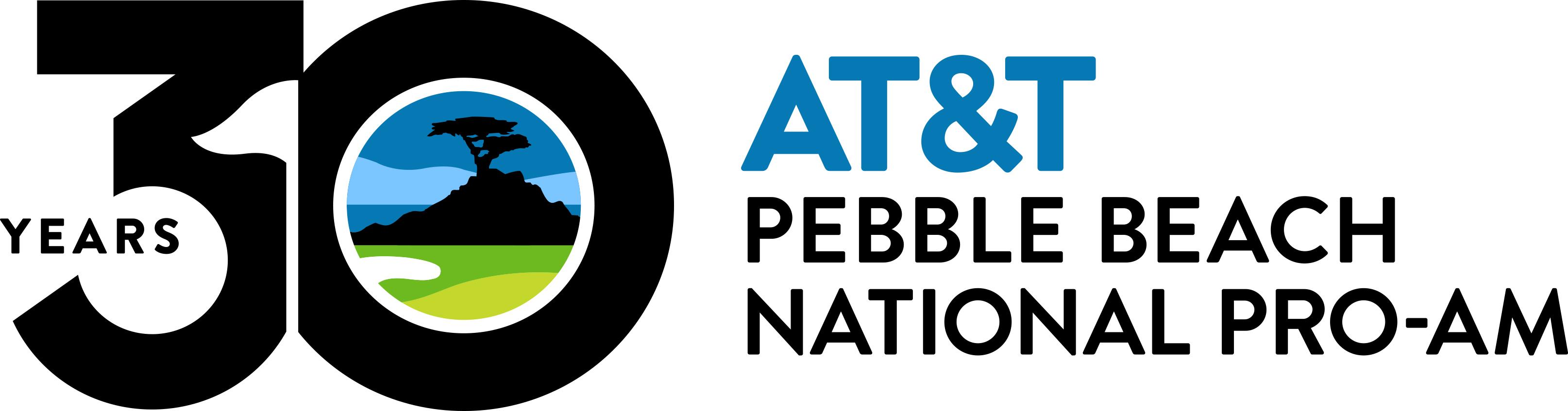 At T Pebble Beach National Pro Am Logo
